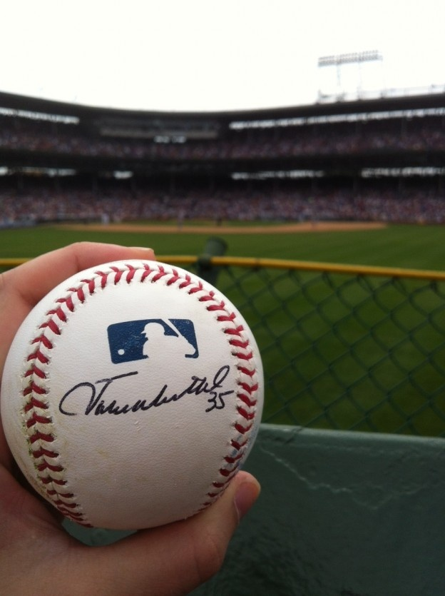 Admiration & Autographs: A Day at Wrigley Field - loved this article