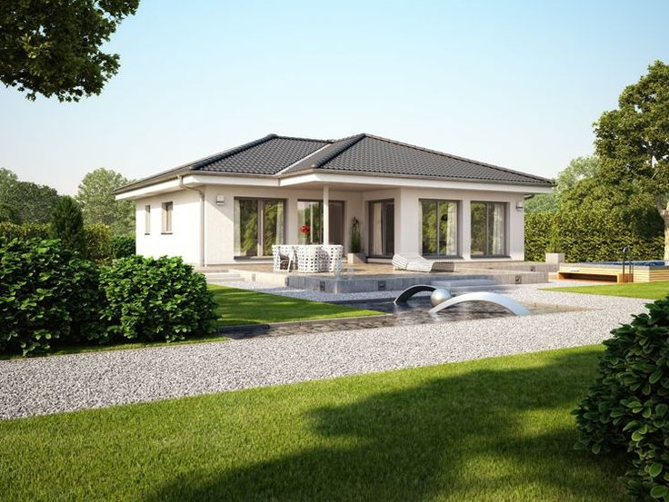 Unser EVOLUTION 100 V3. Haus Fertighaus Hausbau Design