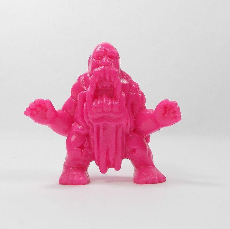 Monster In My Pocket - Series 2 - 52 Ymir - Neon Magenta - Mini Figure