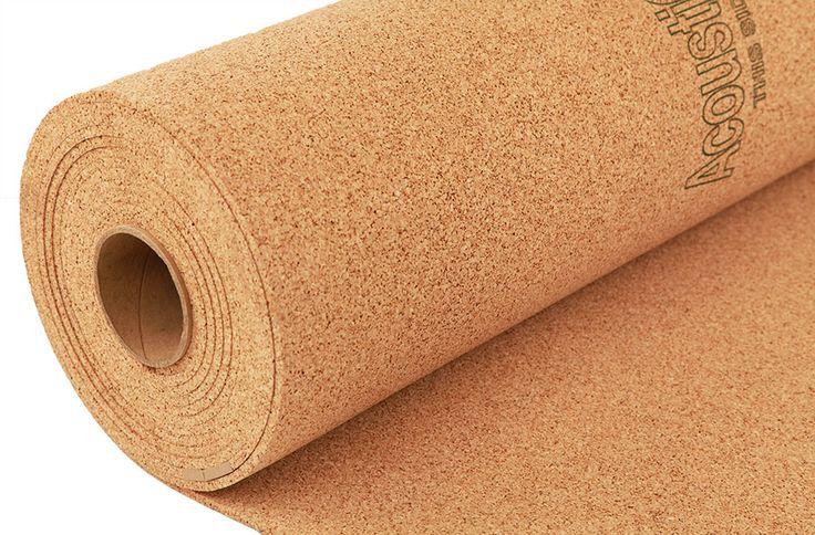6mm Eco-Cork Underlayment - Laminate and Tile Floor Underlay