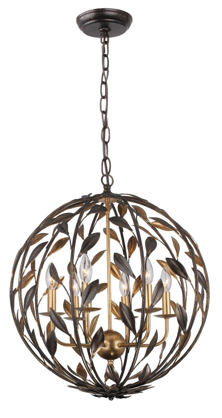 Quorum electra 8 light sputnik chandelier amp reviews wayfair - Check Out This Gorgeous Six Light Chandelier From Crystorama Lighting Where Would You Put
