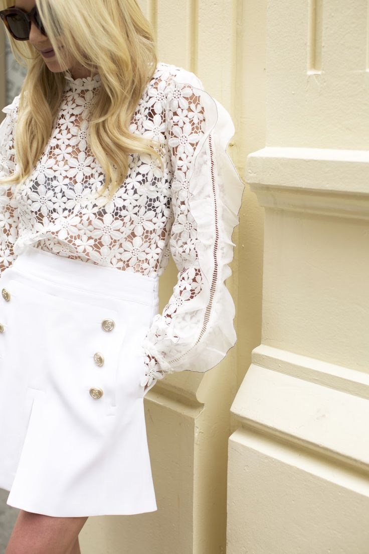 pastels & lace // in soho | // Atlantic-Pacific