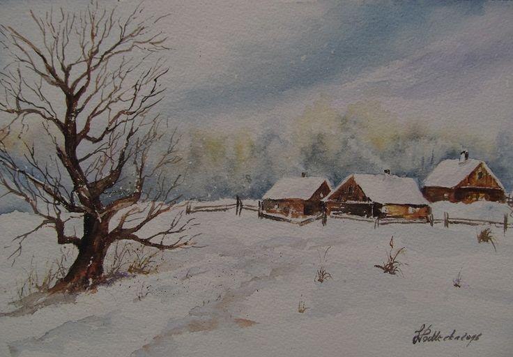 Zima. W. Podlecka