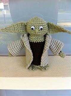 """""""Crochet Amigurumi  Yoda"""" #Amigurumi  #crochet"""