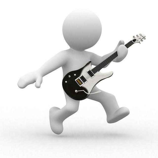 how to play walk like a man on guitar
