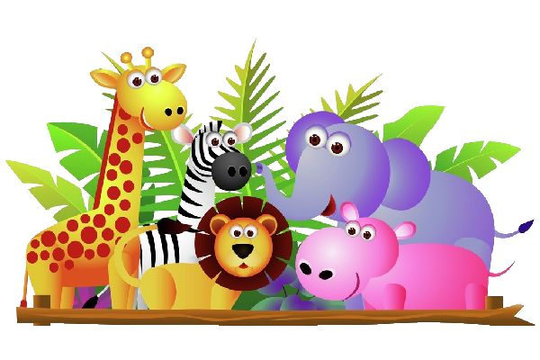 Baby Cartoon Animals Clip Art Use These Free Cute Baby