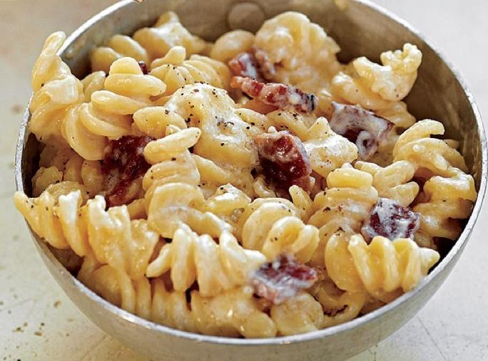 Bacon and Cheddar Macaroni & Cheese   Recipe
