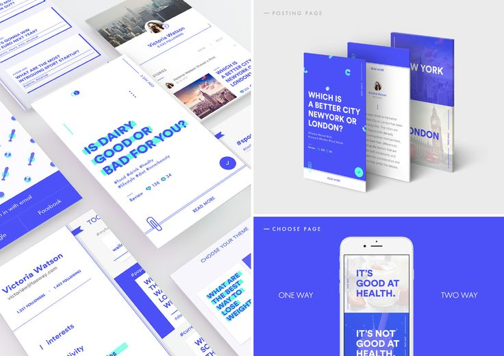 TOOWAY MOBILE APPLICATION GUI Design_ 김태희, 유혜민(공동작업)Roll_ Personal Project,Mobile App, UI, Graphic DesignPeriod_ 2015.12 ~ 2016.02 Concept_The TOOWAY app service was created to help people with making decisions.  Users can vote anonymously on whether they think a choice might be right or wrong  and, in the same way, post a problem to be evaluated by fellow users. On a more casual note, TOOWAY was also made to share opinions on curious everyday occurrences and trivial events. By using a…