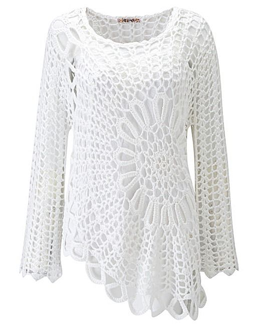 Joe Browns Little Havana Crochet Top | Simply Be