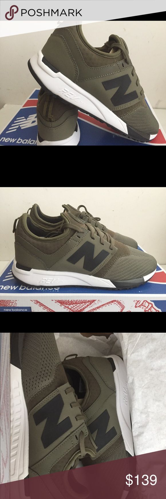 New balance NB247 olive black New with box size 8 New Balance Shoes Sneakers