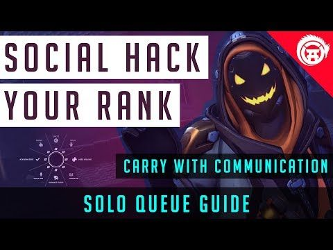 Social Hack your Rank - Overwatch Advanced Communication Guide - http://freetoplaymmorpgs.com/overwatch-online/social-hack-your-rank-overwatch-advanced-communication-guide