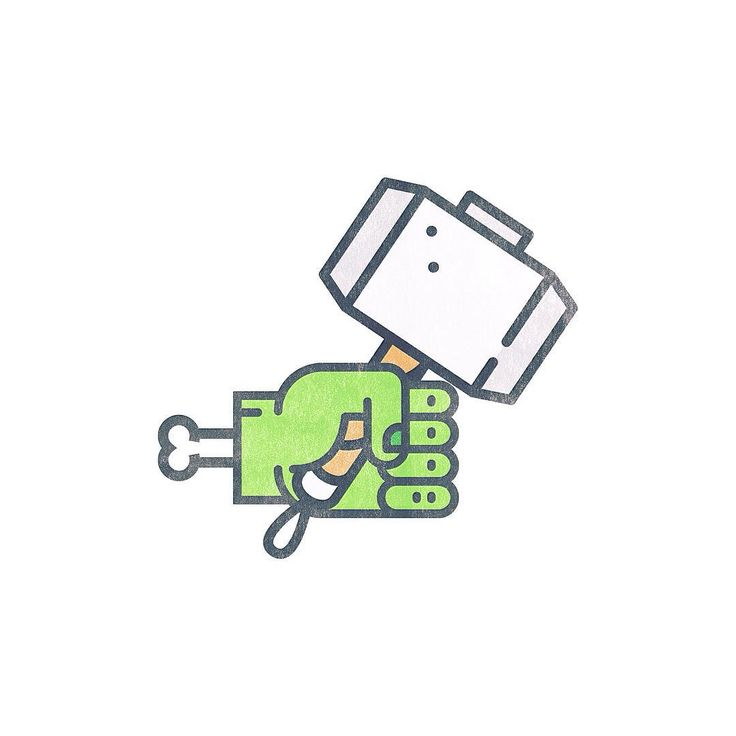 Avengers mashup.  #thor #hulk #avengers #avengersageofultron #illustration #illustrator #adobephotoshop #adobeillustrator #green #hammer #bone #simple #simplicity #vector #icon #mashup #portfolio #vscocam #vsco #filter