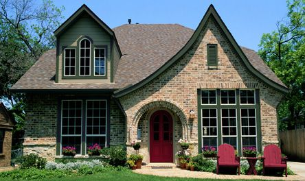 Beautiful exterior colors on this tudor possible choice - Tudor revival exterior paint colors ...