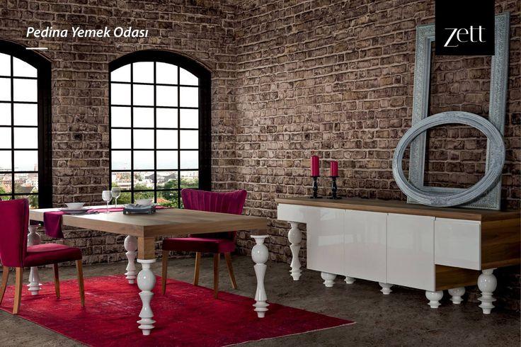 Pedine Yemek Odası, modern tasarım anlayışına farklı bir soluk getirmek isteyenlerin yeni tercihi!  #zettdekor #mobilya #furniture #ahşap #wooden #yatakodasi #bedroom #yemekodasi #diningroom #ünite #tvwallunits #yatak #bed #gardrop #wardrobe #masa #table #sandalye #chair #konsol #console #dekor #decor #dekorasyon #decoration #koltuk #armchair #kanepe #sofa #evdekorasyonu #homedecoration #homesweethome #içmimar #icmimar #evim #home #inegöl #bursa #turkey