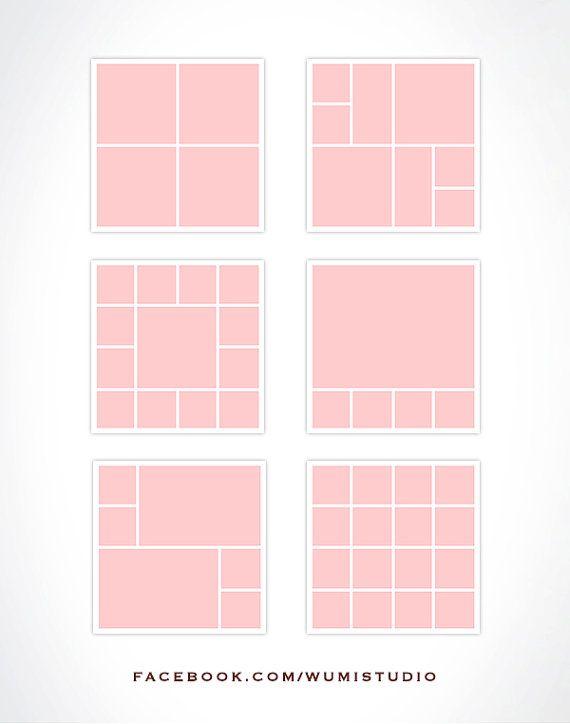 Storyboard Templates Colagem De Fotografias By Wumibranddesign