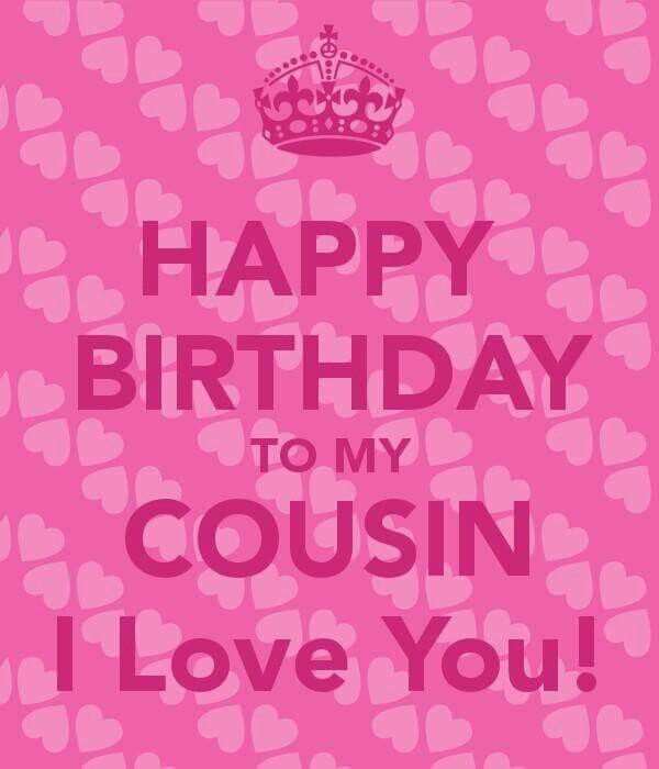 Happy Birthday  Cousin. I pray your Birthday is blessed, wonderful, love-filled, but mostly EXCITING. Love you ❤