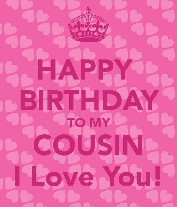 Happy Birthday Cousin