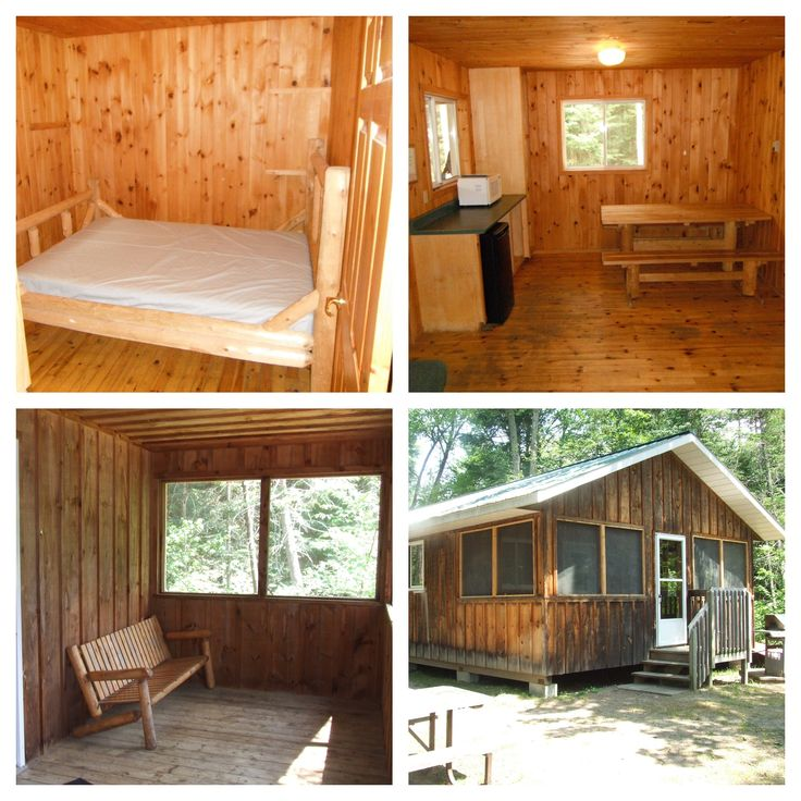 Floodwater Cabin, Bonnechere Provincial Park  http://www.ontarioparks.com/roofedaccommodation/