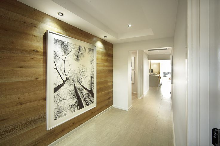 Hallway - Novara 264 with Ascent Facade on display at The Ponds