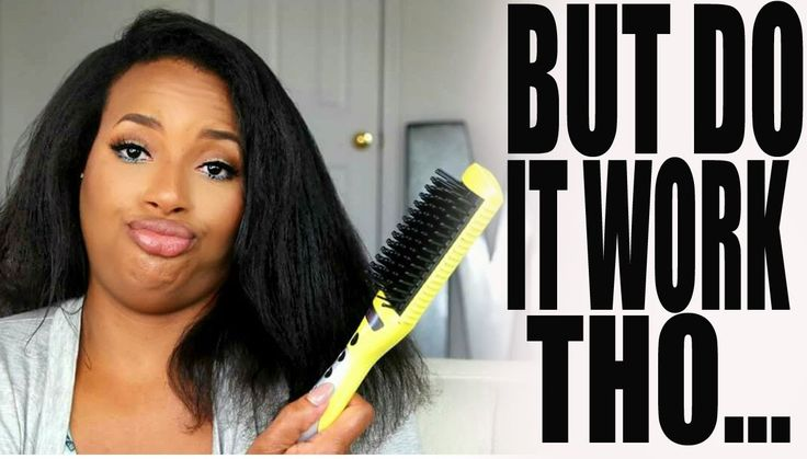 Electric Hair Brush Straightener?!! - https://www.fashionhowtip.com/post/electric-hair-brush-straightener/