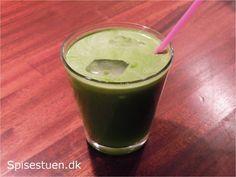 Grøn juice 5 - spinat, fennikel, lime, ingefær og æble