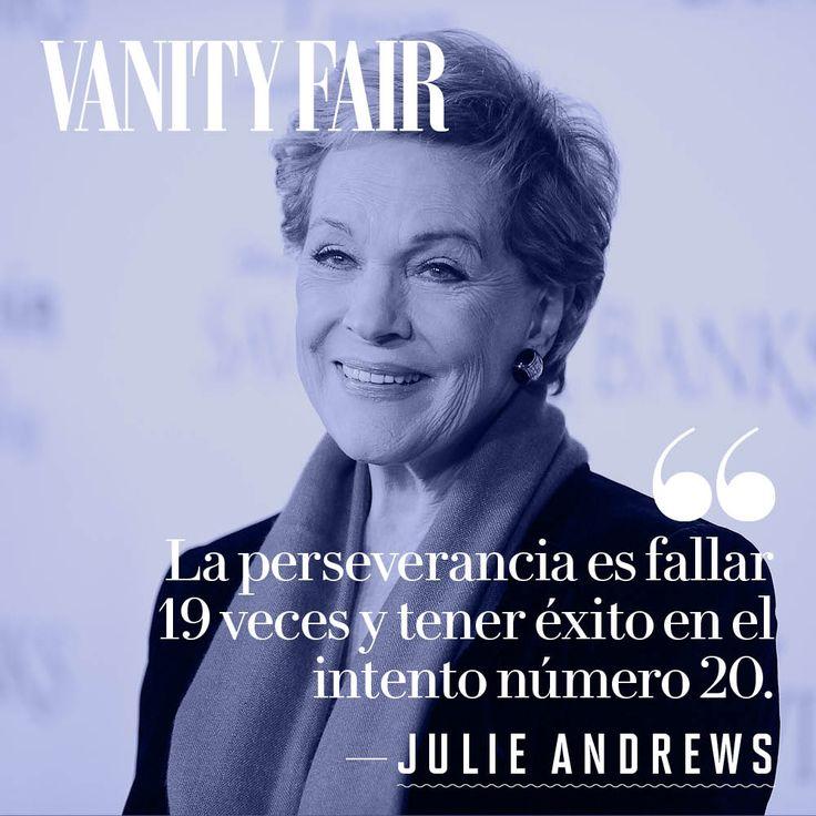 Resultado de imagen de Frases de Julie Andrews