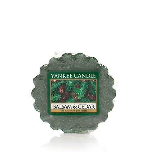 Balsam & Cedar Tarts® wax melts Up to 8 Hours of Fragrance   About Tarts® wax melts Simply place in a Tarts® wax melts warmer (never add water) and light an unscented tea light below, or use one of our electric warmers. As the wax melts, the fragrance is released. Mix and match scents to create your own personal aroma blends.