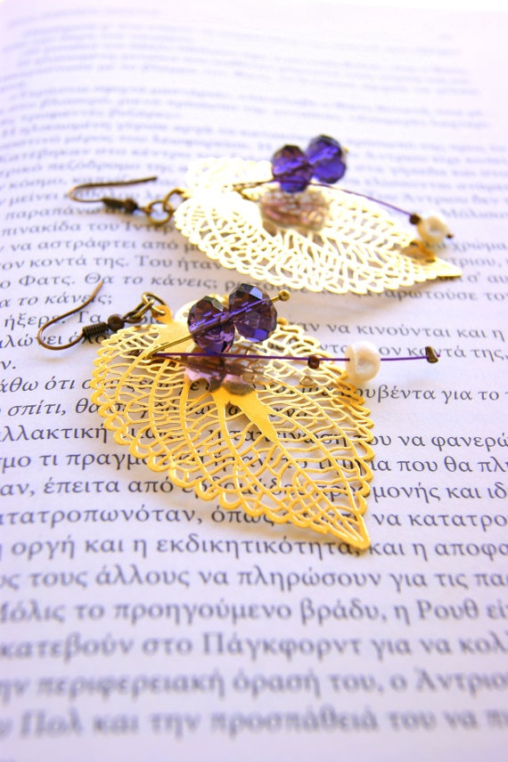 Leaves of Bronze by RenatasArt on Etsy, €12.00