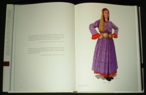 BOOK-Greek-Folk-Costume-of-Thessaly-Karagouna-ethnic-dress-Balkan-fashion-Greece