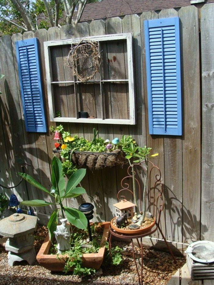 Die besten 25+ Gartenzaun selber bauen Ideen auf Pinterest - gartendekoration selber machen