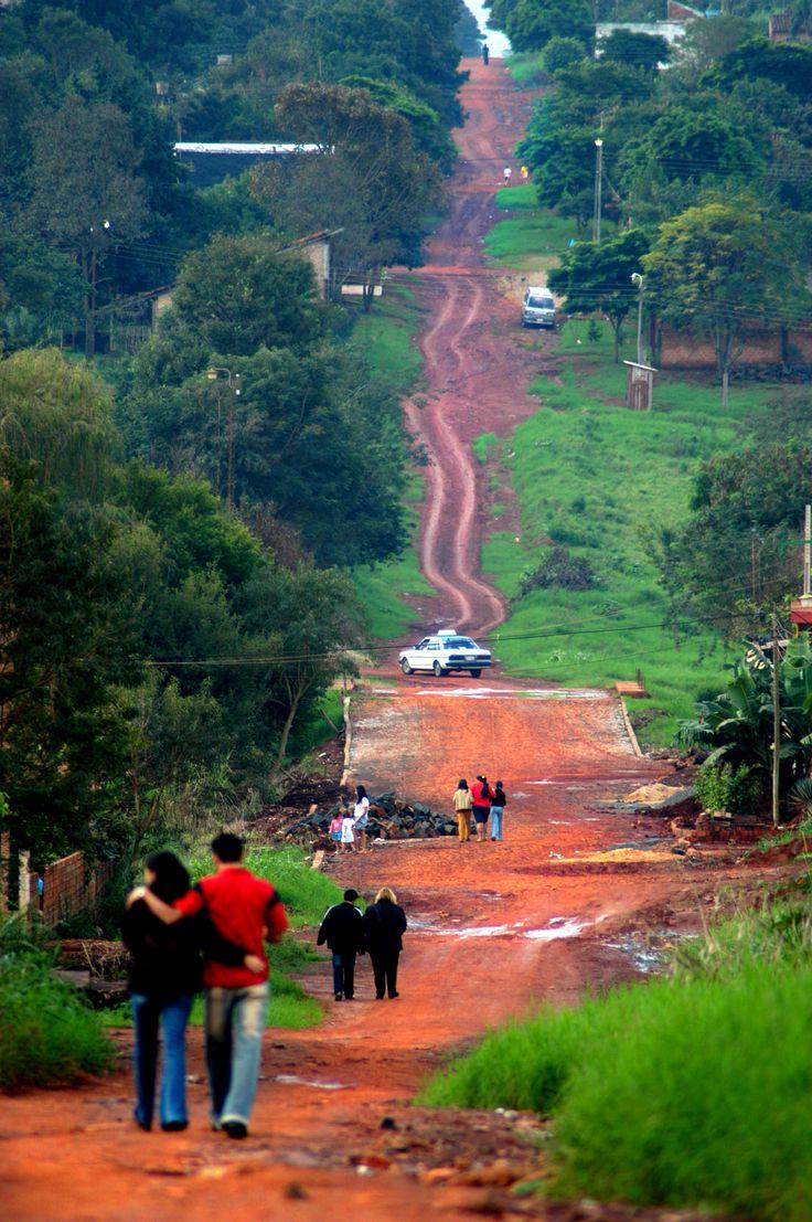 Passeggiata domenicale, Iguazu. 2005