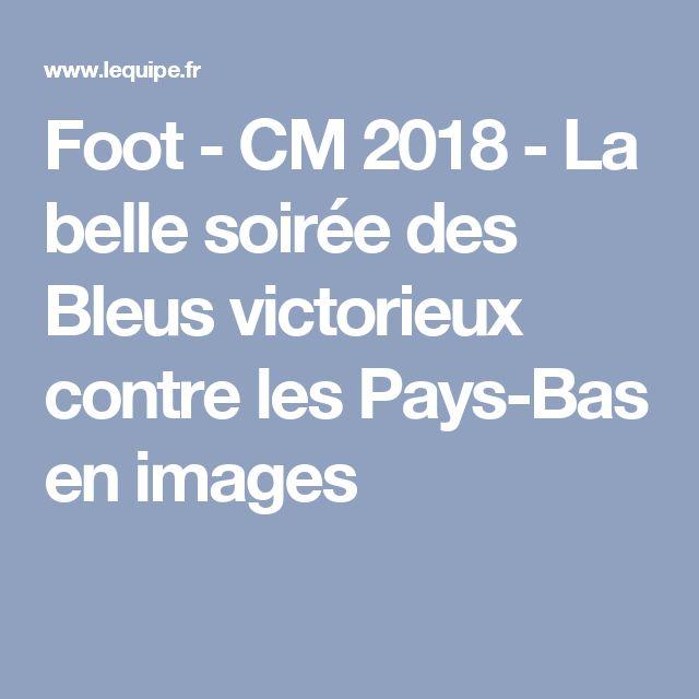 Foot - CM 2018 - La belle soirée des Bleus victorieux contre les Pays-Bas en images