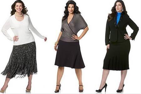 Мода для маленьких полных женщин