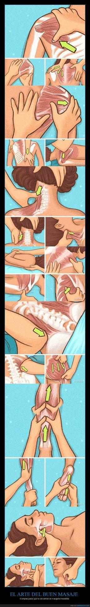 1034120 - 6 simples trucos           Como dar masajes muy sencillos que te convertirán en artista de los masajes