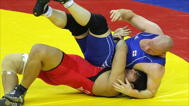 British wrestlers frustrated over the recruitment of Eastern-European athletes for the GB team.