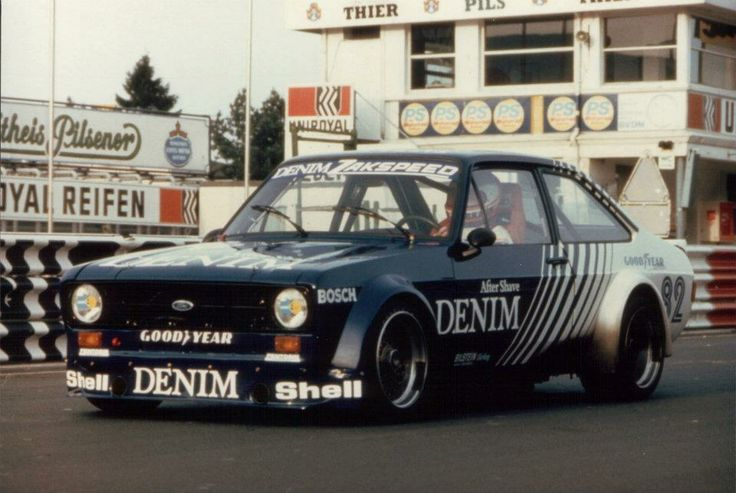 Zakspeed  Ford Escort 1800 at the Touringcar Grand Prix 1982