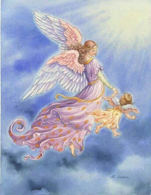 ♥ Angels use energy with love and kindness to bless us.
