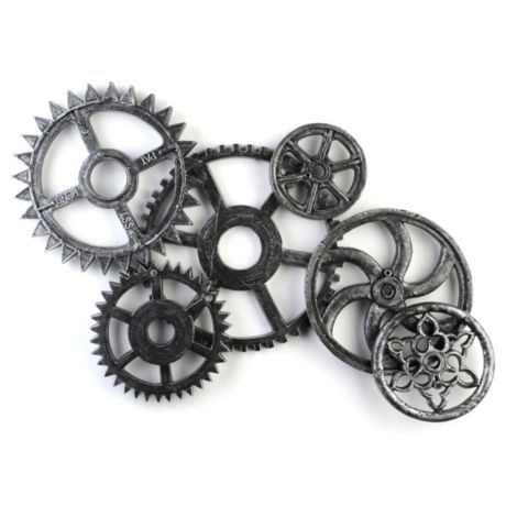 Gears and Cogs Plaque.  Great addition to any guys room or cave.   $39.97