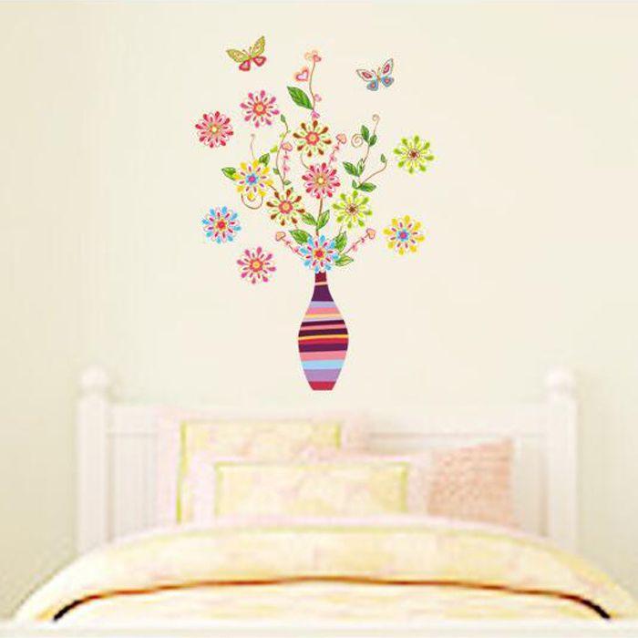 Retro virágok falmatrica  #virág #gyerekszobadekoráció #gyerekszoba #matrica #faldekoráció #dekoráció