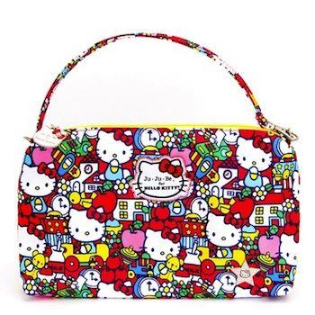 Hello Kitty x Ju Ju Be. http://www.alongcamebaby.ca/Ju-Ju-Be-Be-Quick-D-Ring-Hello-Kitty-Tick.html
