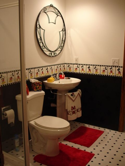 mickey mouse kids bathroom – Susan kids bathroom design ideas