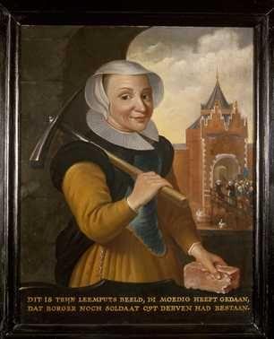 Portret van Trijn van Leemput (?-1606/1607) (ca. 1650)