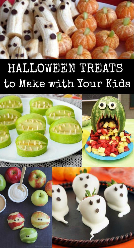 Halloween treats- many are healthy alternatives to the typical Halloween candy