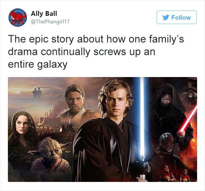 Star Wars Star Wars Humor Movie Plot Funny Star Wars Memes