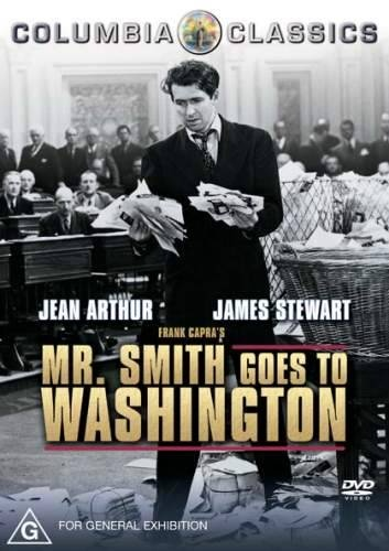 Mr. Smith Goes to Washington.  I adore this movie (and Jimmy Stewart)!