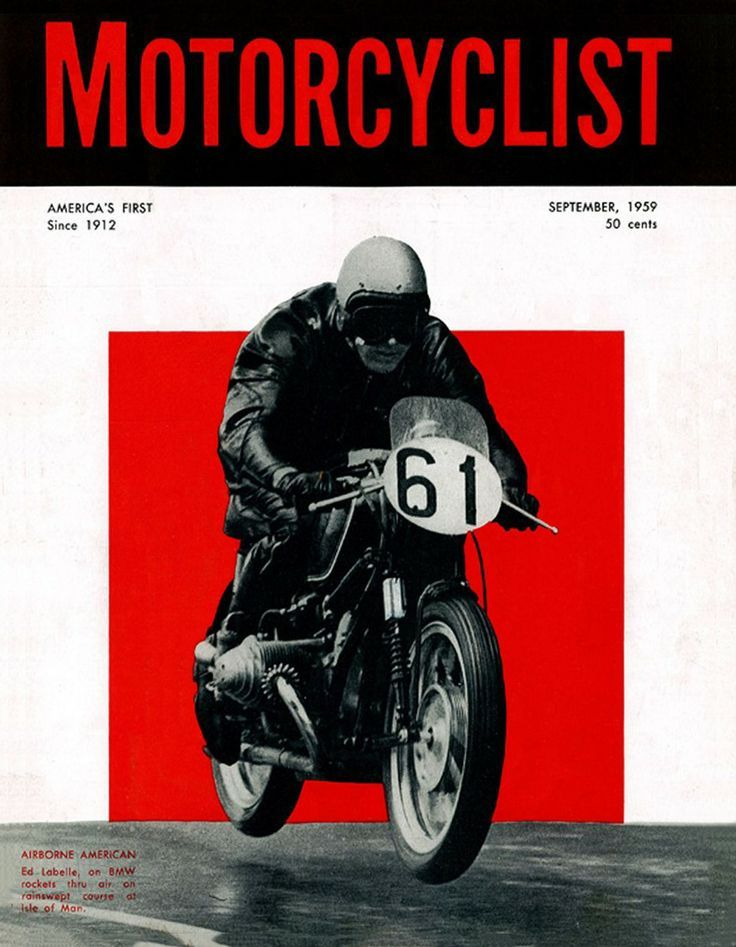 Motorcyclist Vintage motorcycle posters, Bike poster