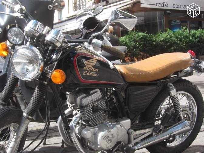 moto 125 custom occasion honda id e d 39 image de moto. Black Bedroom Furniture Sets. Home Design Ideas