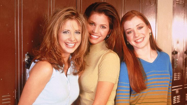 Buffy - Im Bann der Dämonen mit Alyson Hannigan und Sarah Michelle Gellar