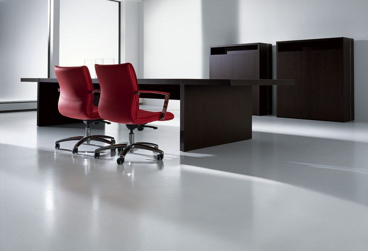 Meeting table provide fundamental space for management activities. The size and design features of MASTER give it particular prestige.  The clear-cut style of the design characterising the whole project creates a solid and prestigious environment.   For more information : http://www.interoffice.co.uk/contact/