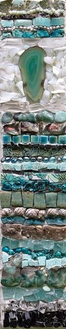 Mosaic Collage Close Up